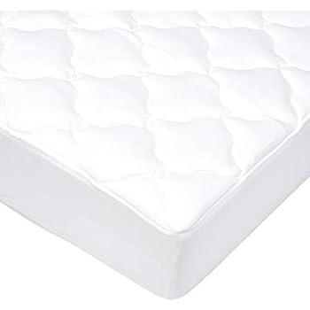 Silentnight Airmax Mattress Topper Polyester White