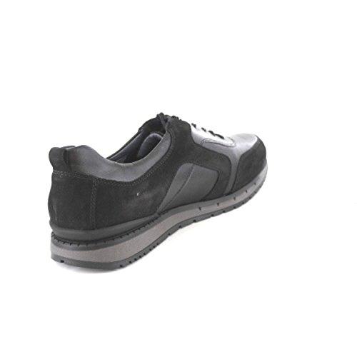 Waldläufer 972006-304-001, Black Chaussures À Lacets Pour Hommes