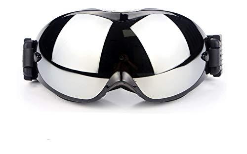 APJJ Doppelschichtige HD-Anti-Nebel-Skibrille Outdoor-Skibrille,Black