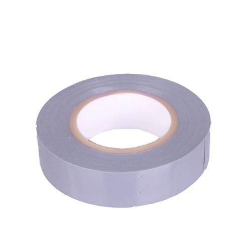 PVC Isolierband Klebeband 10 Meter lang 15 mm breit -grau-