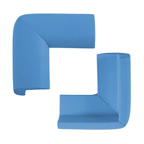 Praktische Haushalt Baby Sicherheit Tisch Schreibtisch Abdeckung Ecke Super Soft Guard Weichspüler Schützen Pad Baby Sicherheit Zubehör - Sky Blue