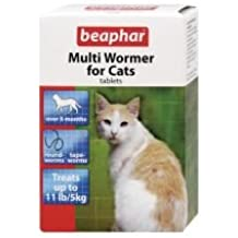 12tab Beaphar Multiwormer Gato