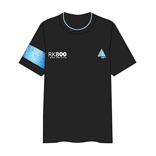 Unisex Detroite Become T-Shirt Cosplay Vest Kostüme West Shirt Connor Tshirt Hank Marcus Spiel Bekleidung