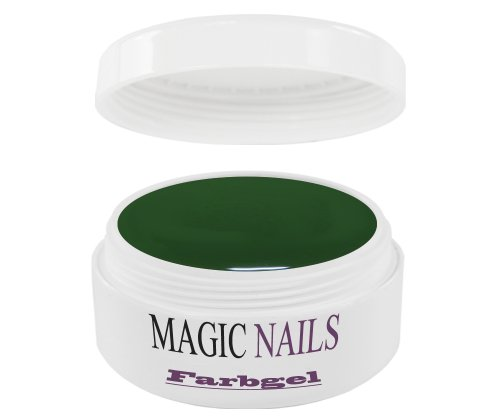 Magic Items Gels UV – – Vert foncé qualité studio 5 ml
