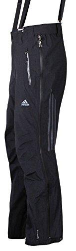 adidas Terrex Icefeather Outdoor Pant Skitouren Gore-Tex Hose (schwarz, 52)
