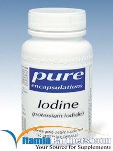 Pure Encapsulations - Iodine (Potassium Iodide) 120 Vcaps from Potassium Iodide