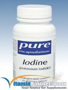 Pure Encapsulations - Iodine potassium iodide - Hypoallergenic Supplement Supports Healthy Thyroid Function* - 120 Capsules