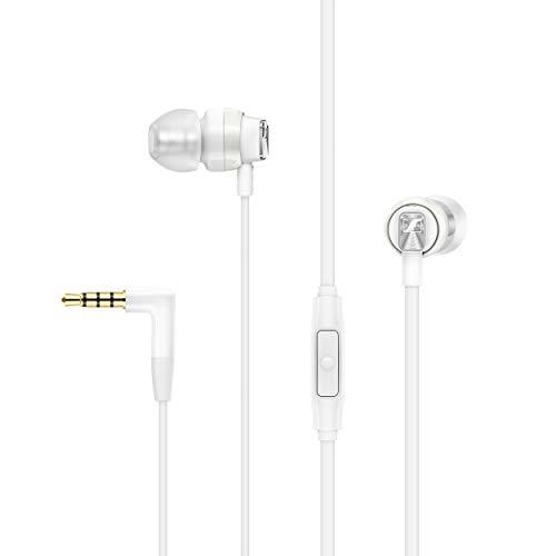 Sennheiser CX 300S In-Ear-Kopfhörer mit Universal Smart Remote, weiß