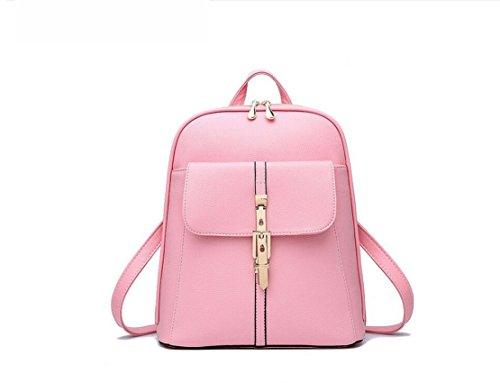Borsa a tracolla, zaino zaino borsa da viaggio in pelle PU Pink