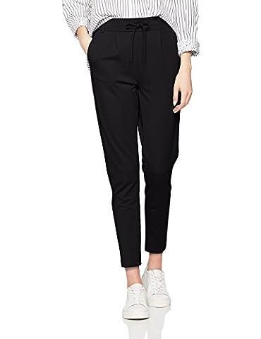ONLY Damen Hose Onlpoptrash Easy Colour Pant Pnt Noos, Schwarz (Black), 44 /L34 (Herstellergröße: XXL)