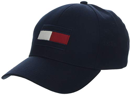 Tommy Hilfiger Herren Big Flag Baseball Cap, Blau (Blue 413), One Size (Herstellergröße:OS)