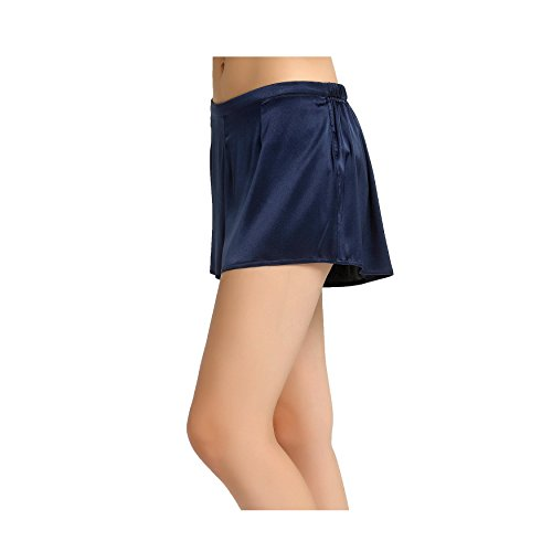 Jasmine Silk Lady 's Classic Seide French Miederteil Boxer navy, Extra Large -