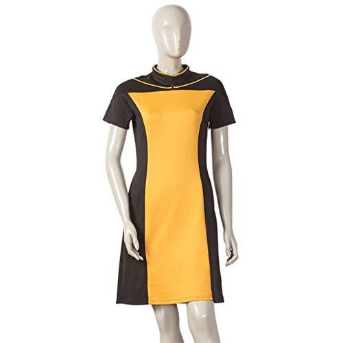 Halloween Erwachsene Cosplay Party Kostüme Star Trek Die nächste Generation Langer Rock Uniform Kostüm Leistungen - Trekkie Kostüm