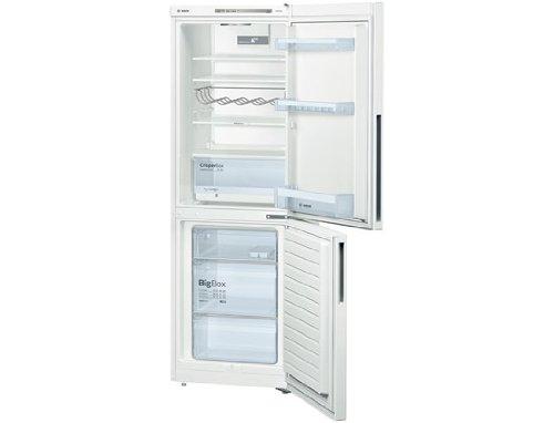 Réfrigérateur combiné Bosch KGV33VW31S - Réfrigérateur congélateur bas - 288 litres - Réfrigerateur/congel : Froid brassé/Froid brassé - Dégivrage automatique - Blanc - Classe A++ / Pose libre