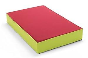 Hüpfmatratze in tollen Farben für alle kleinen Hüpfer 107x70x17 cm