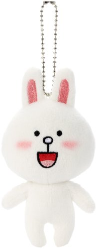 Line App Character Plush Doll Ball Chain (Cony) (Line Doll)