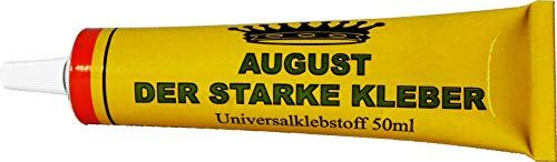 Universalkleber 215g (5 Tuben mit je 43g) August der Starke Kleber Universalklebstoff Alleskleber 106 (215g)