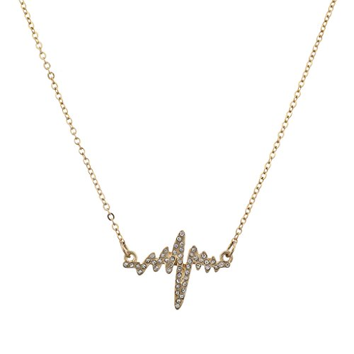 lux-accessories-goldtone-pave-heartbeat-heart-rate-kitschy-novelty-necklace