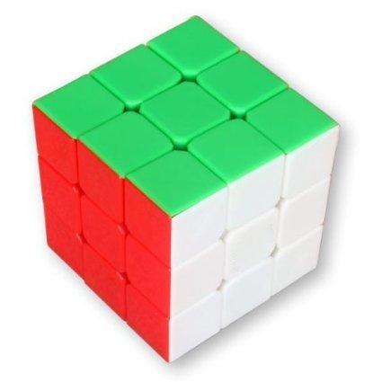 EQLEF® Speedcube 3x3x3 Cubo Mágico velocidad 57mm 6-Color Speed Magic Cube