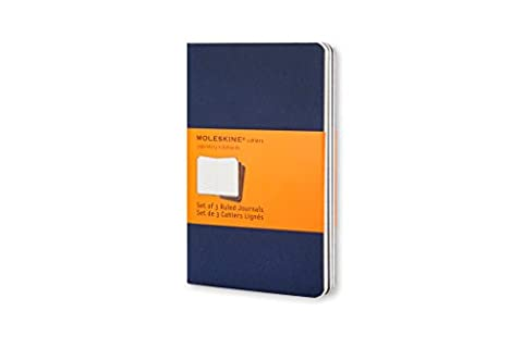 Moleskine Set de 3 cahiers lignés Format de poche Couverture