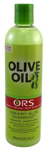 ORS Olive Oil Creamy Aloe Shampoo, 12.5 Fluid Ounce by ORS