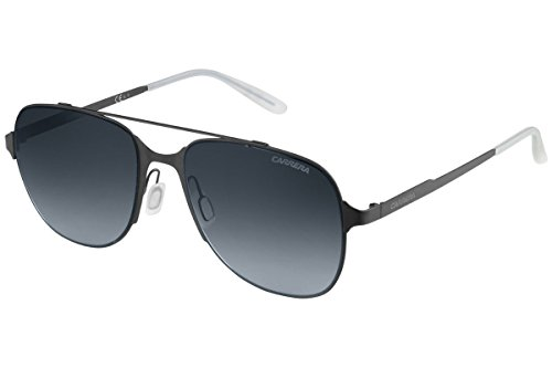 Carrera 114/S HD Gafas de sol, Negro (Matt Black/Grey Sf), 55 Unisex-Adulto