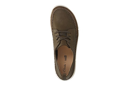Clarks Trifri Lace - Black Leather Braun