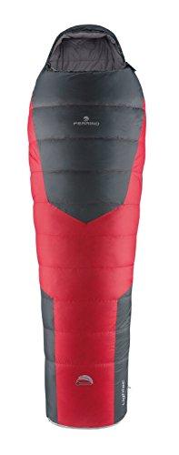 Ferrino, lightec duvet, sacco a pelo unisex, rosso, 1000