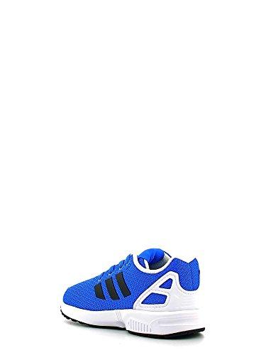 adidas Zx Flux, Sneaker a Collo Basso Unisex – Bambini Blu/Nero