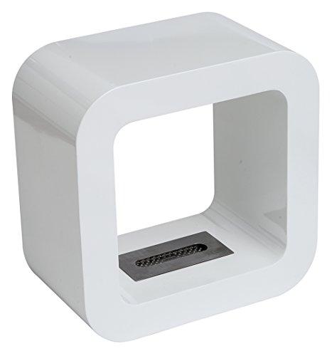 Tecno Air System MAROSTICA Bio-Ethanol Fireplace, White