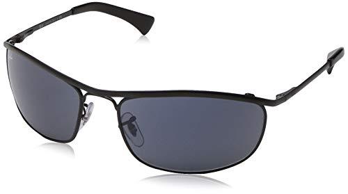 Ray-Ban Herren 0RB3119 Sonnenbrille, Schwarz (Top Demi Shiny/Black), 62.0