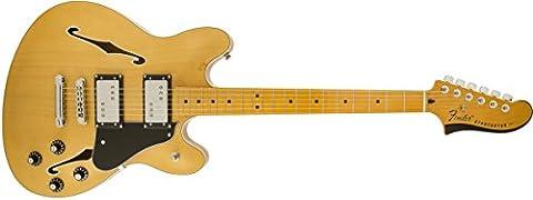 Fender 0243102521 Starcaster Maple Fingerboard Electric Guitar - Natural