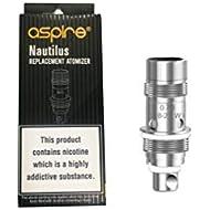 Aspire Nautilus BVC 0.7ohm Replacement Coils (Pack of 5) for Aspire Zelos/Nautilus 2 Tank E-Cigarette