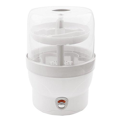 H+H BS 29w Babyflaschen - Sterilisator für 6 Flaschen in weiß - 2