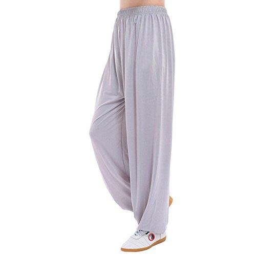 MESHIKAIER Große Größe Super weiche Damen Haremshose Pluderhose Pumphose Yoga Hose Sport Hose für 4 Jahreszeiten
