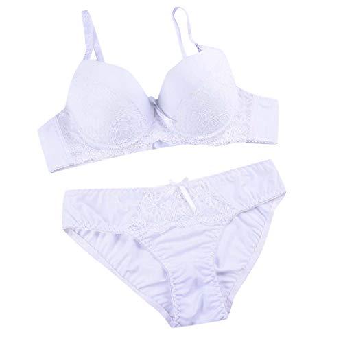 Morran Damen BH Verschluss Verlängerung Sexy Spitzen BH Dessous Unterwäsche Set -