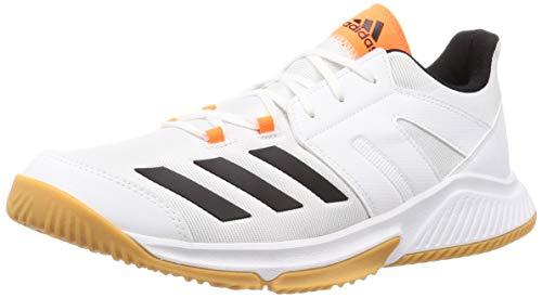 adidas Performance Essence Handballschuh Herren Weiss/orange, 9 UK - 43 1/3 EU - 9.5 US