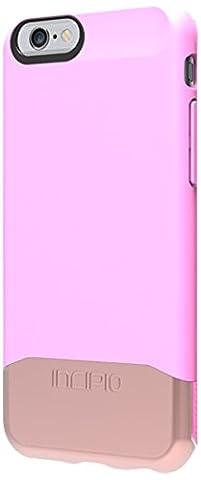 Incipio Edge Chrome 2-teilige Luxuriöse Schutzhülle für Docks mit Hochglanz-Chrome-Optik für Apple iPhone 6/6S- Pink/Rose Gold