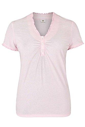 h.moser Salzburg Damen Damen T-Shirt Rosa, Rosa, S
