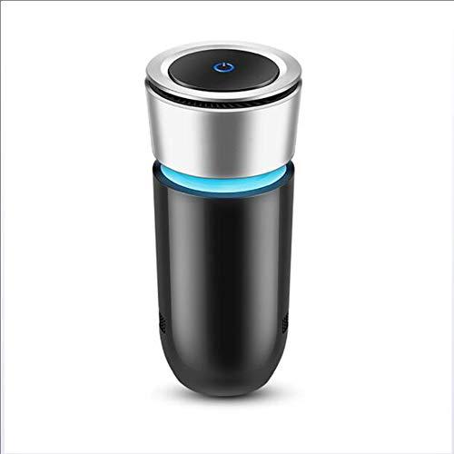 ZXTiL Auto Ozon Ionen Luftreiniger Luftreiniger Entfernen Rauchgeruch Bakterien Mini Ozon Luftreiniger Funktion mit Autotelefon Ladegerät