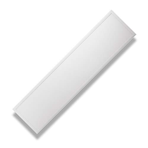 PureLed LED Panel Ultraslim BACKLIGHT 120x30cm Neutralweiß 4000K 48W 4320lm Lampe Leuchte Deckenleuchte Einbauleuchte Pendelleuchte Wandleuchte inkl. Trafo und Befestigungsmaterial: Befestigungswinkel