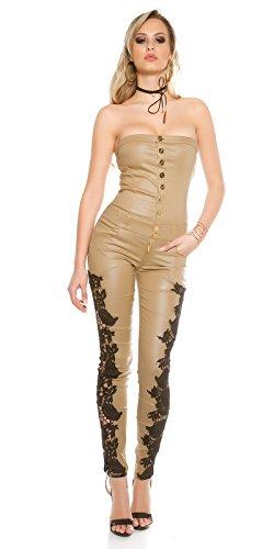 In-Stylefashion - Combinaison - Femme beige beige L Beige