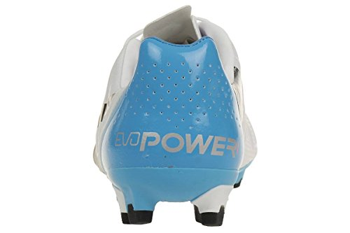 Puma Evopower 1 H2h Fg Scarpe Da Calcio A Testa In Giù Trucchi Collezione Grafica Bianco