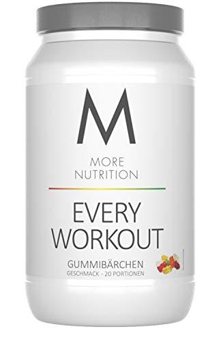 More Nutrition Every Workout Booster. Wach & Fokussiert Bei Jedem Training. Für Bodybuilding Und Kraftsport 1 x 700g (Gummibärchen) - Pump Pre-workout Creatin
