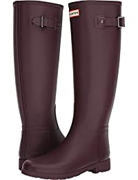 Hunter Woman Rubberboots Refined Tall Grey