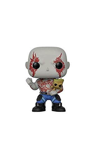 Funko - Guardians of The Galaxy 2 2 2 - Pop Vinyl Figure 262 Drax W/Groot, 21464