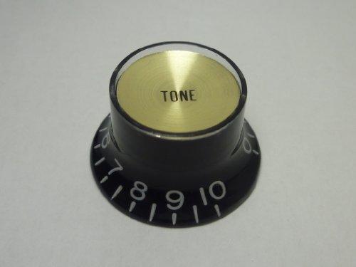(Gemacht in Japan)High Quality Kn?pfe mit reflektierenden kappen,Embossed,Schwarz,(inch),Gold kappen,Tone