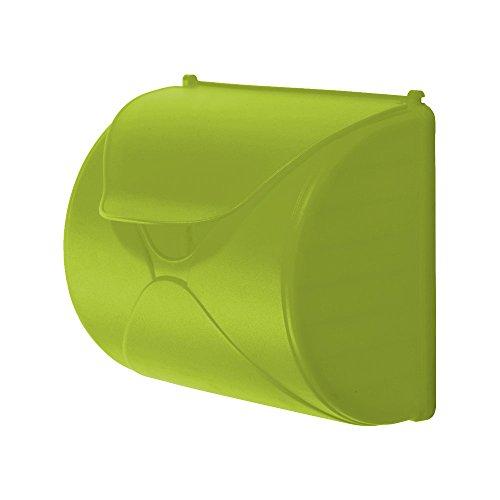 WICKEY Briefkasten für Kinder Spiel-Briefkasten Zubehör Post Briefe, 250x226x136mm, hellgrün