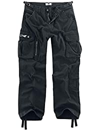 Black Premium by EMP Army Vintage Trousers Cargo Trousers Black a0380ab8867f0