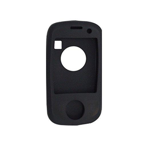 Zwart Siliconen Skin Case Protector voor Dopod HTC P863 / P3651